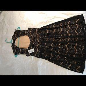Candie's Dresses - Brand new black lace dress Kohl's Juniors XL